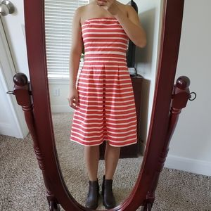 Gap strapless dress